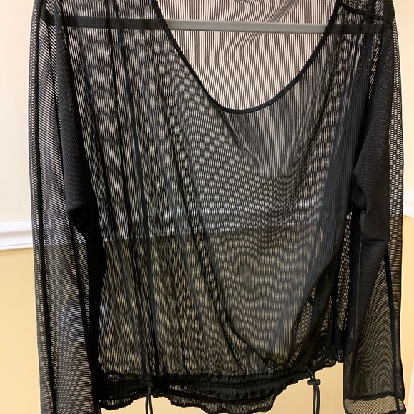 Dkny Tops - DKNY Sheer Work Out Top